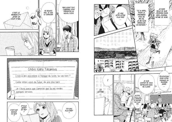 Orange - Takano Ichigo - première lettre