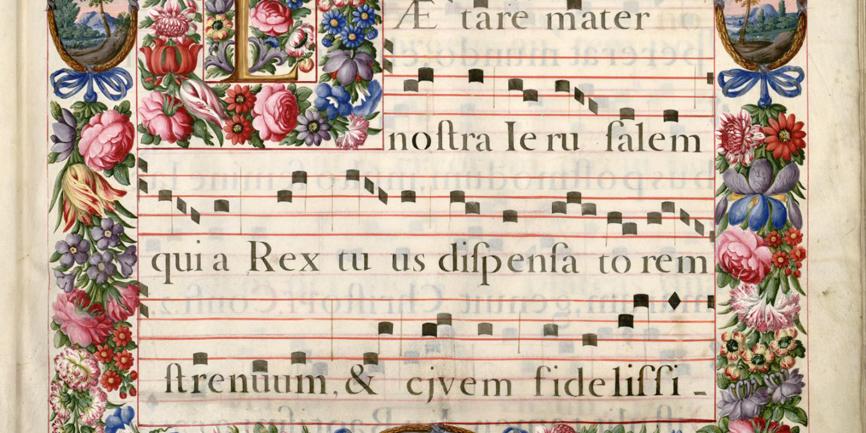 Représentation de la nature dans la musique médiévale