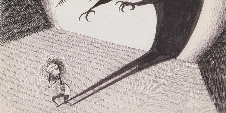 peur - (c) Tim Burton