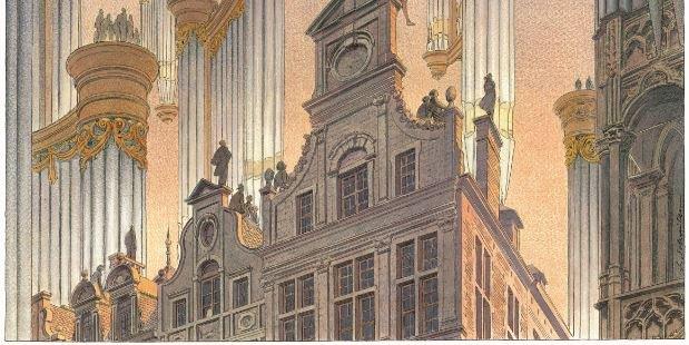 Bruxelles, carrefour européen de l'orgue