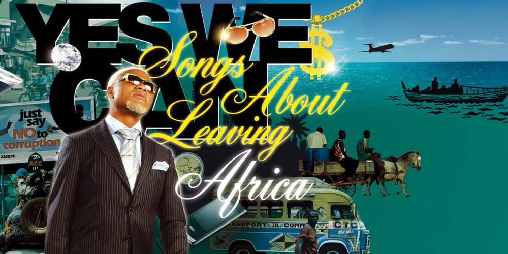 pochette Songs About Leaving Africa