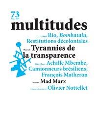 revue Multitudes n°73 - couverture