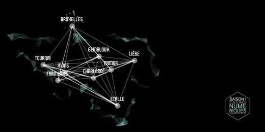Saison des cultures numériques - 2017 - visuel