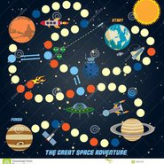 space-quest-game-start-finish-astronomy-icons-background-vector-illustration-45061023.jpg