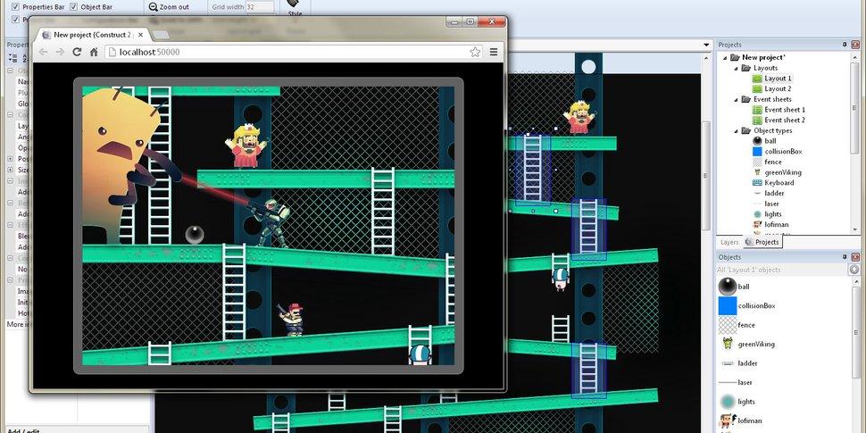 Stage de Printemps : Création d'un jeu vidéo **COMPLET !**