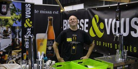 stand Brasse & Vous - brasserie artisanale du pays de Liège