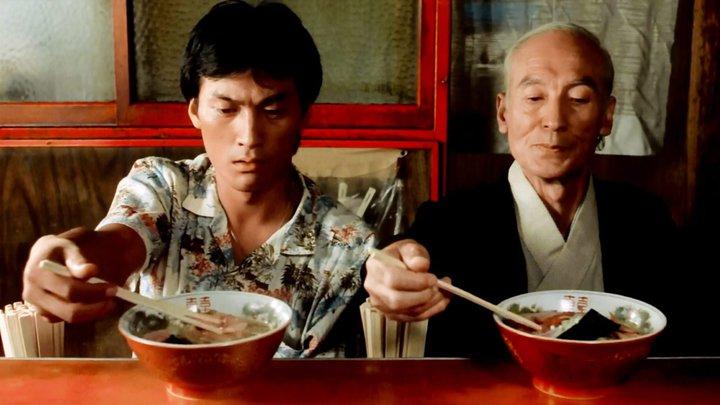 """Tampopo : """"Maître, d'abord la soupe ? Ou d'abord les nouilles ?"""""""