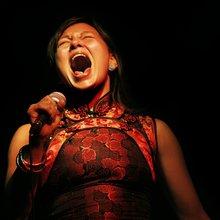 Tanya Tagaq (photo de Nadya Kwandibens)