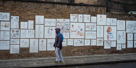 Passant et art de rue