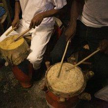 Percussions vaudou de Haïti