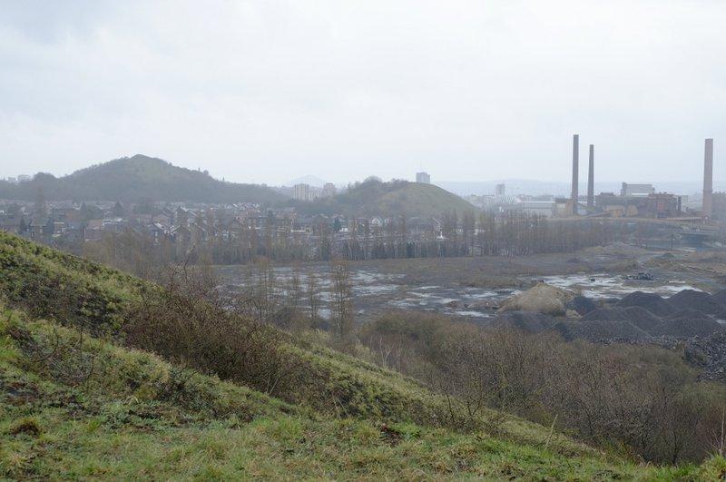 Charleroi - vue depuis le terril St Théodore Est